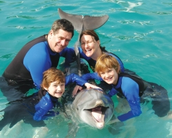swim with dolphins west palm beach Florida