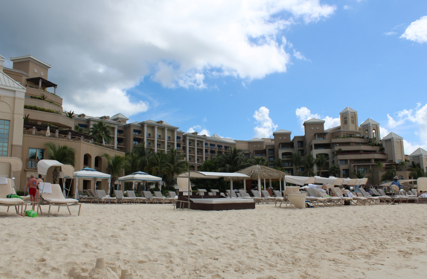 the Ritz Carlton Grand Cayman