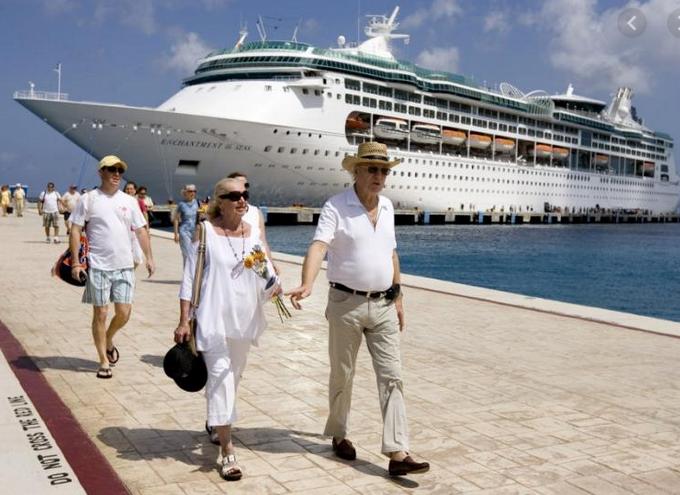 Walk on Cruise Ship
