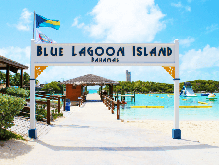 Blue Lagoon Entrance Nassau Bahamas
