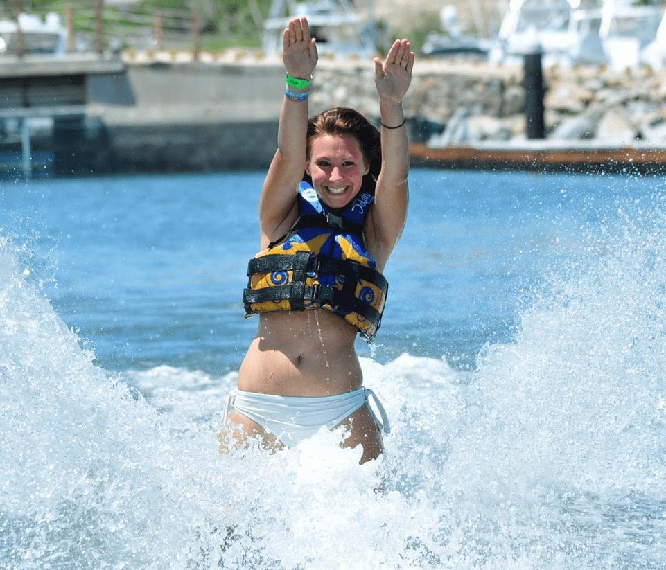 Mexico Dolphin Royal Swim Foot Push Ride