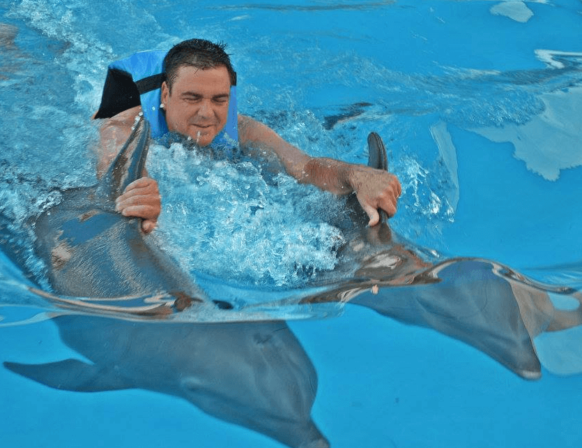 Royal Dolphin Swim in Mexico