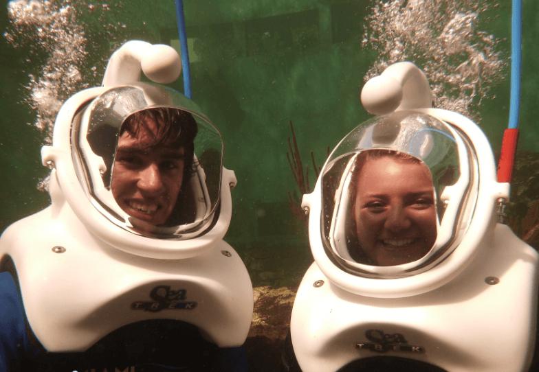 Couple Sea Trek Miami