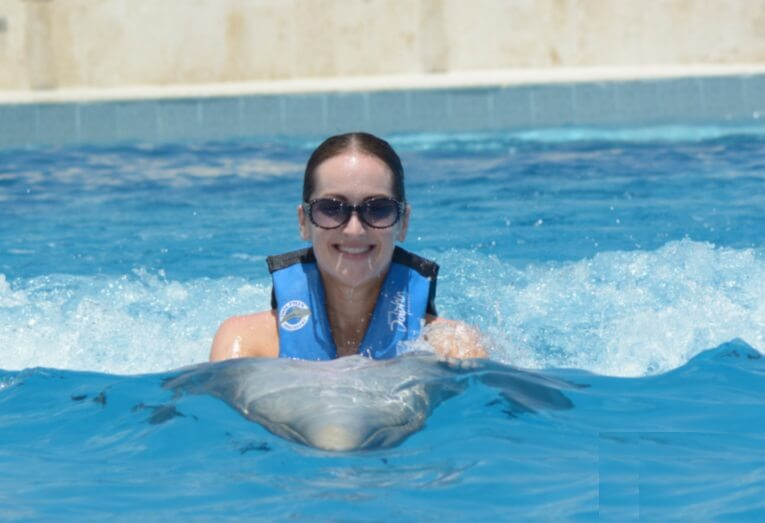 Dolphin Belly Ride in Punta Cana Dominican Republic
