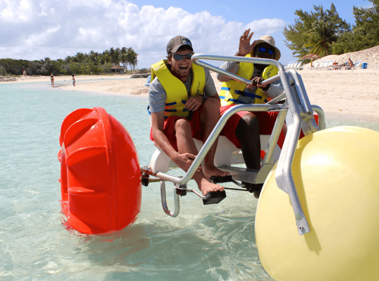 Water bikes Nassau Bahamas